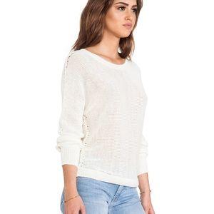 Joie Avici Linen Sweater